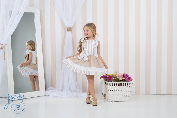 vestido color neutro